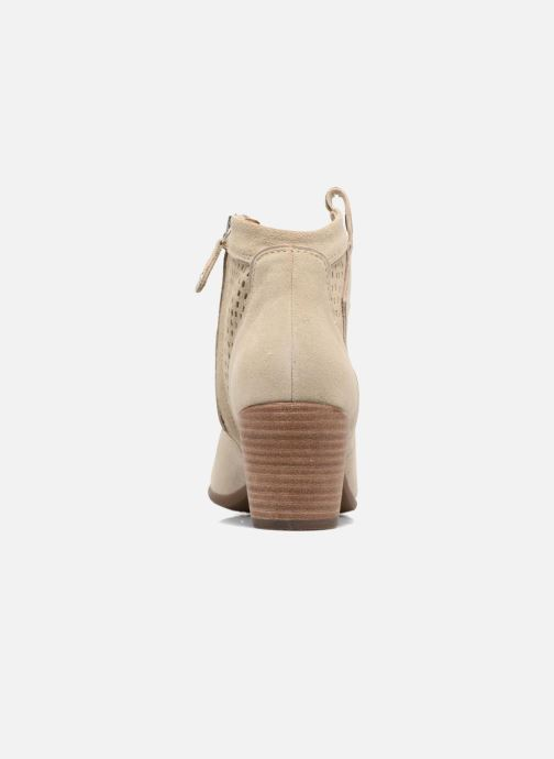 Bottines et boots Geox D LUCINDA C Beige vue droite