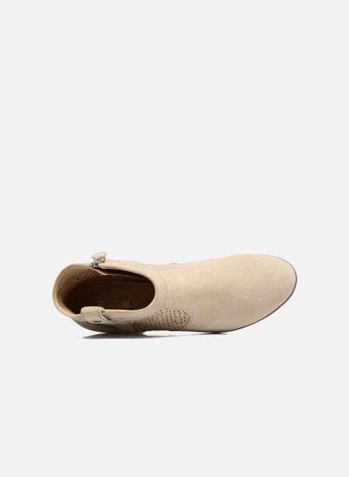 Boots en enkellaarsjes Geox D LUCINDA C Beige links