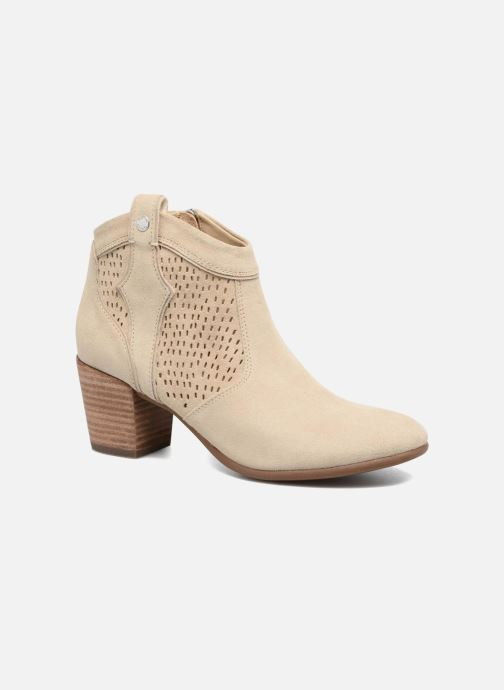 Bottines et boots Geox D LUCINDA C Beige vue détail/paire