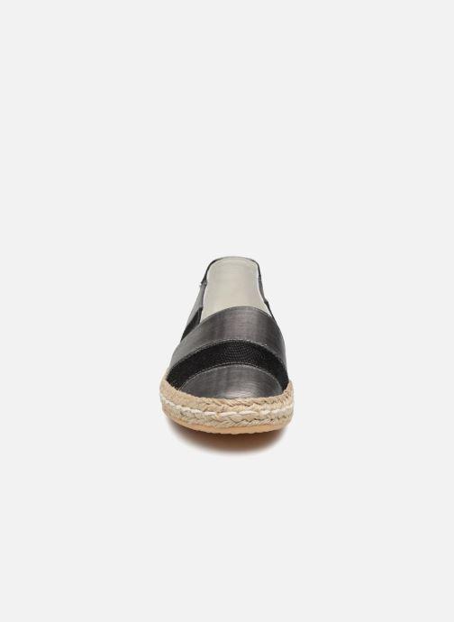 Espadrilles Geox D MODESTY B Noir vue portées chaussures