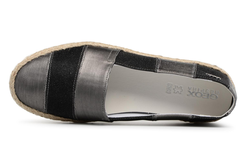 Scarpe di corda Geox D MODESTY B Nero immagine sinistra