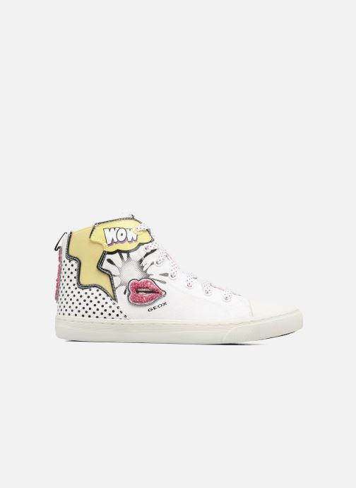 Sneakers Geox D NEW CLUB B II Wit achterkant