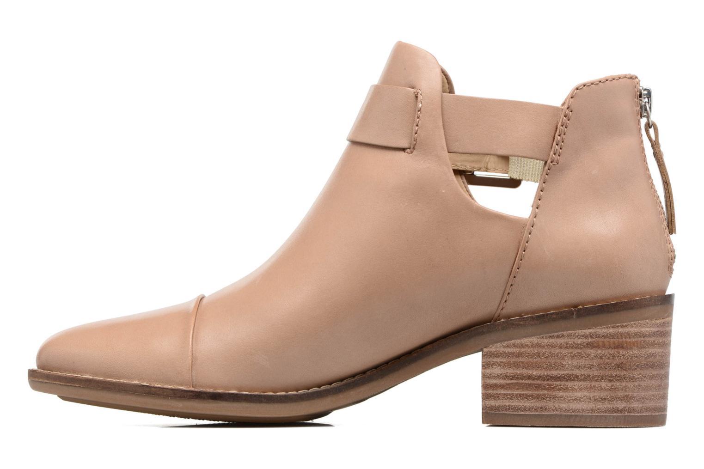 Boots en enkellaarsjes Geox D NEW TWINKA B Beige voorkant