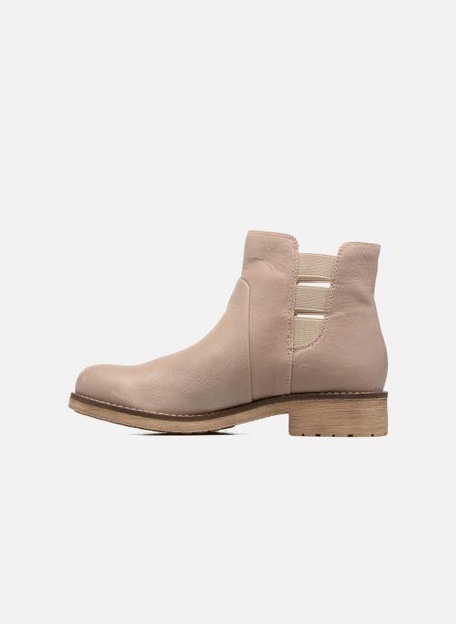 Boots en enkellaarsjes Geox D NEW VIRNA D Beige voorkant