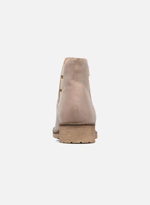 Boots en enkellaarsjes Geox D NEW VIRNA D Beige rechts