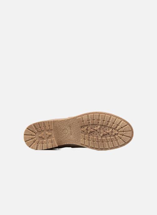 Stiefeletten & Boots Geox D NEW VIRNA D beige ansicht von oben
