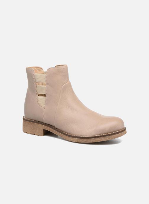 Bottines et boots Geox D NEW VIRNA D Beige vue détail/paire
