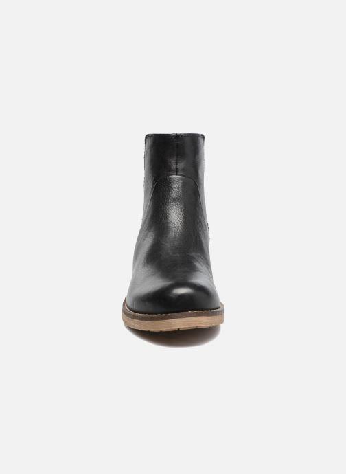 Bottines et boots Geox D NEW VIRNA D Noir vue portées chaussures