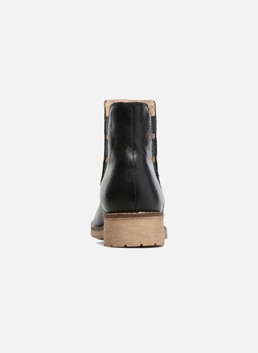 Boots en enkellaarsjes Geox D NEW VIRNA D Zwart rechts