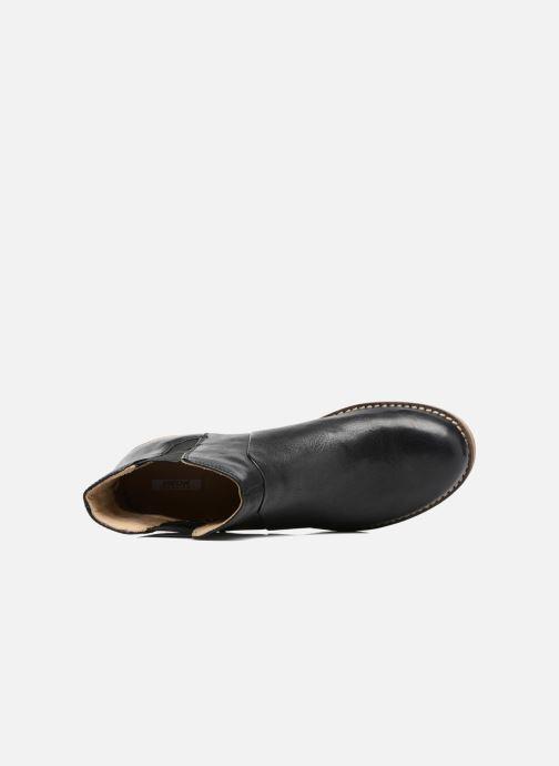 Bottines et boots Geox D NEW VIRNA D Noir vue gauche