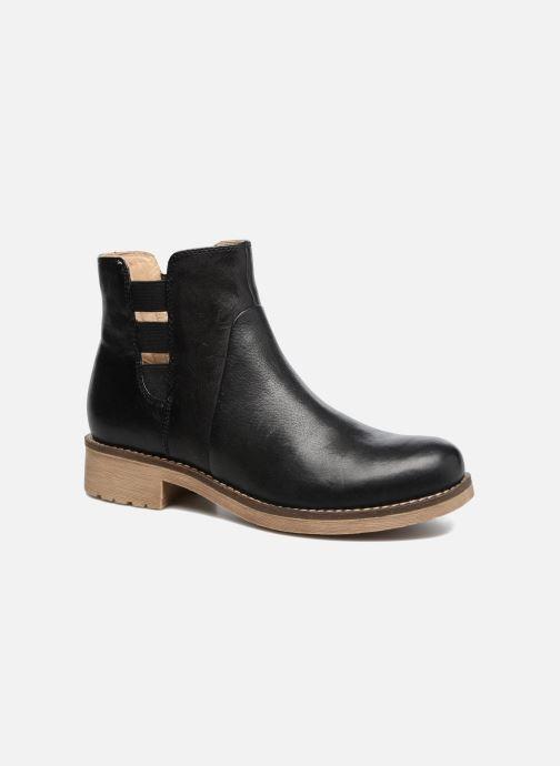 Boots en enkellaarsjes Geox D NEW VIRNA D Zwart detail