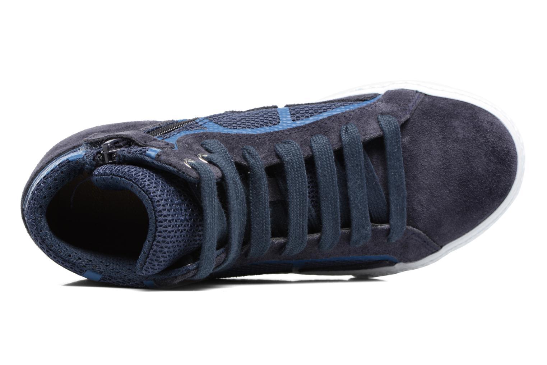 Sneakers Geox J SMART BOY C Blauw links