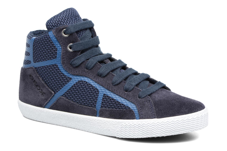 Sneakers Geox J SMART BOY C Blauw detail