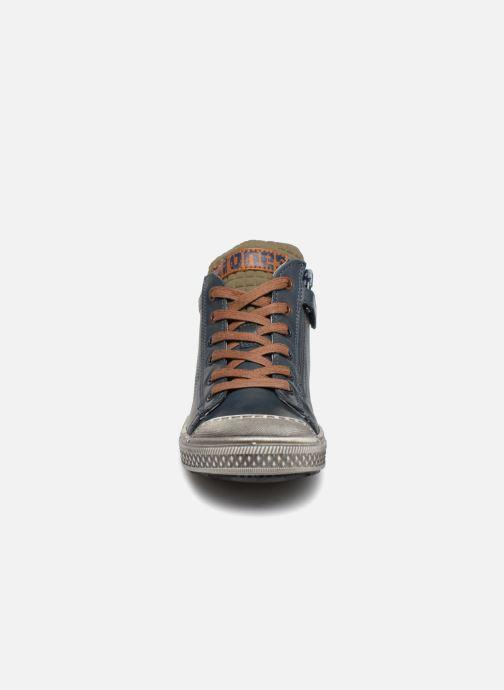 Sneakers Stones and Bones Lukin Blå se skoene på