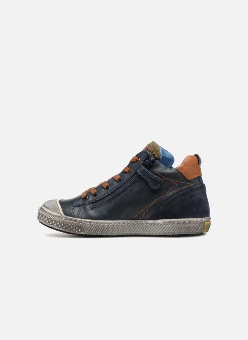Sneakers Stones and Bones Lukin Blå se forfra
