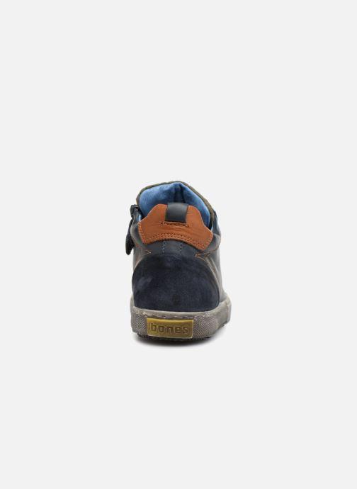 Sneakers Stones and Bones Lukin Blå Se fra højre