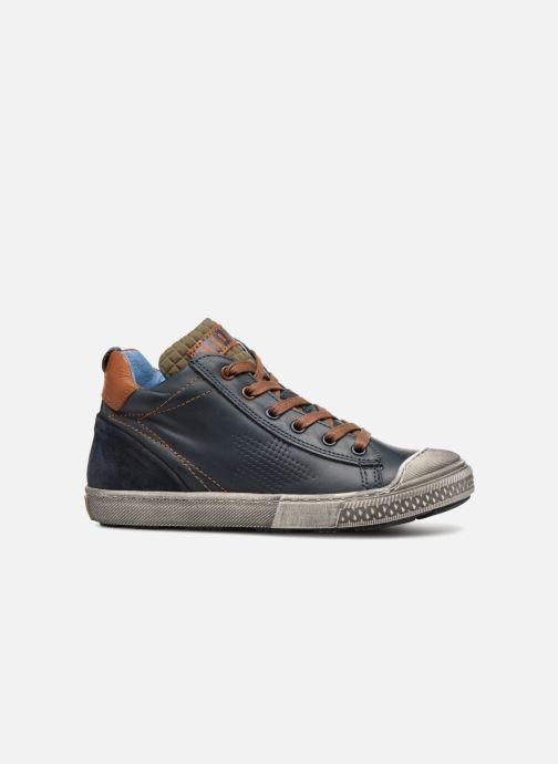 Sneakers Stones and Bones Lukin Blå se bagfra