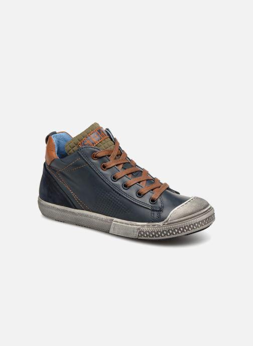 Sneakers Stones and Bones Lukin Blå detaljeret billede af skoene