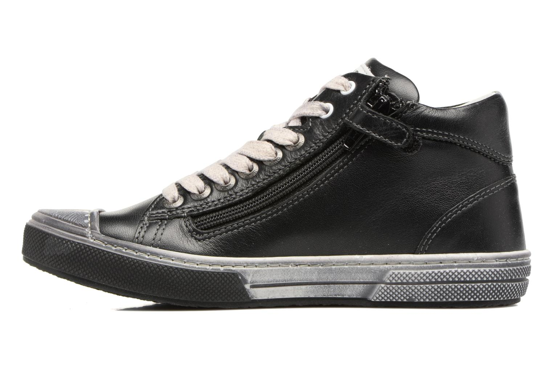 Sneakers Stones and Bones Rosto Sort se forfra