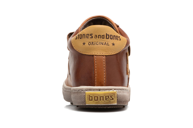 Sneakers Stones and Bones Lifo Brun Se fra højre