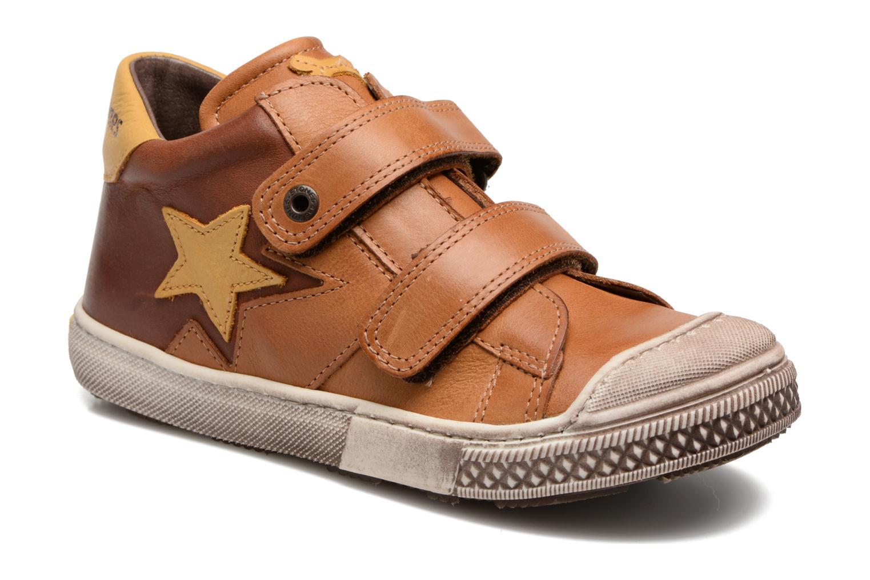 Sneakers Stones and Bones Lifo Brun detaljeret billede af skoene