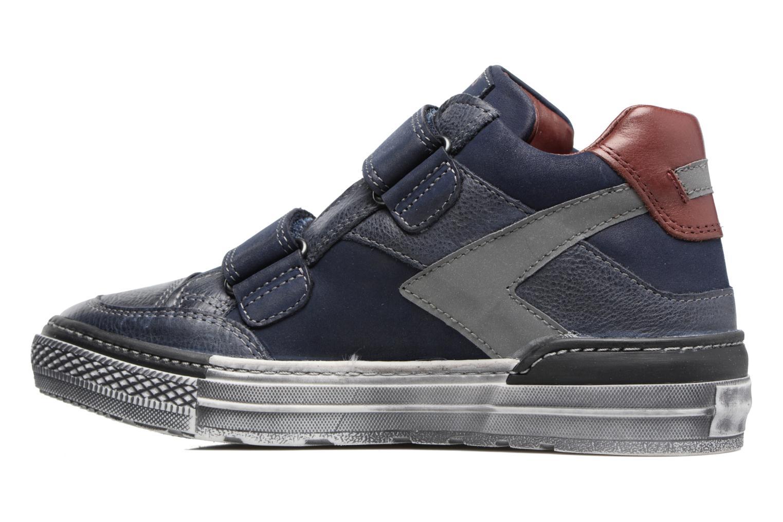 Sneakers Stones and Bones Drevedry Blauw voorkant