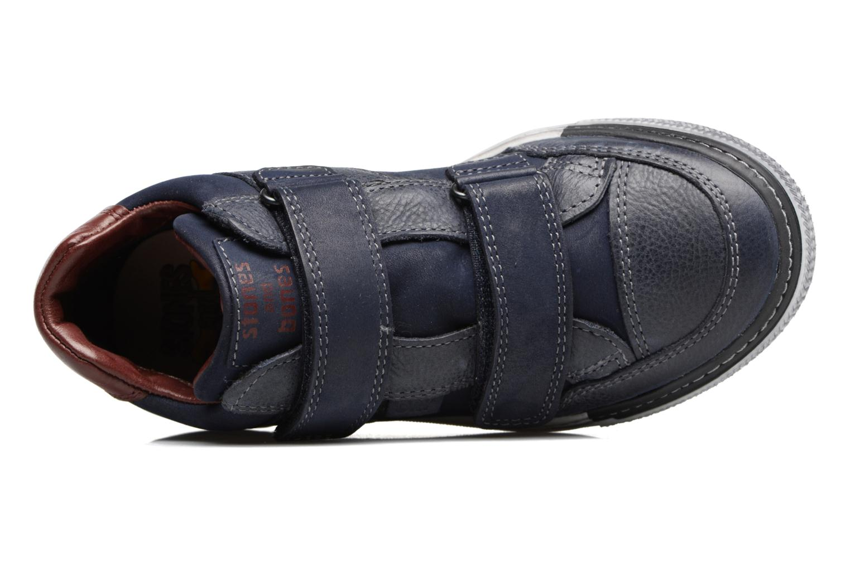 Sneakers Stones and Bones Drevedry Blauw links