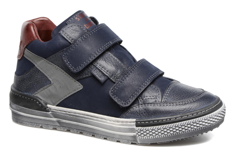 Sneakers Stones and Bones Drevedry Blauw detail