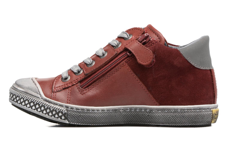 Sneaker Stones and Bones Lato rot ansicht von vorne