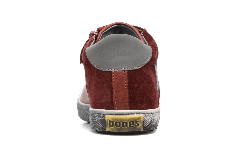 Sneaker Stones and Bones Lato rot ansicht von rechts