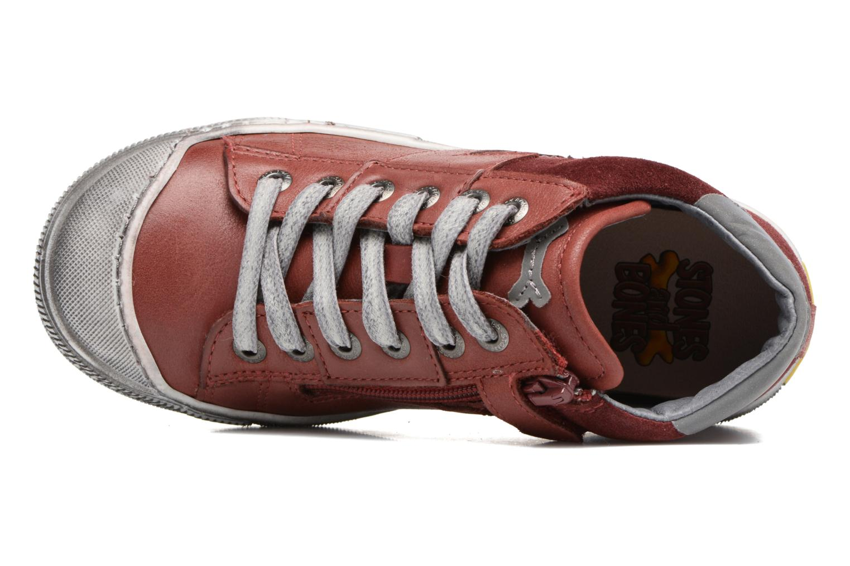Sneaker Stones and Bones Lato rot ansicht von links