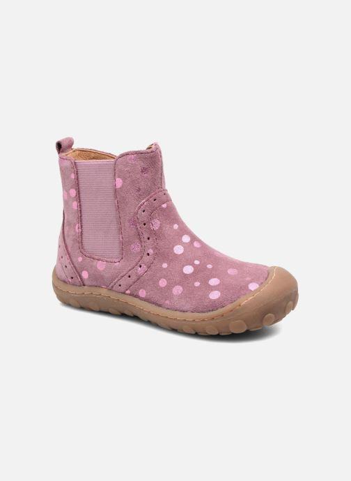 Ankelstøvler Bisgaard Christa Pink detaljeret billede af skoene