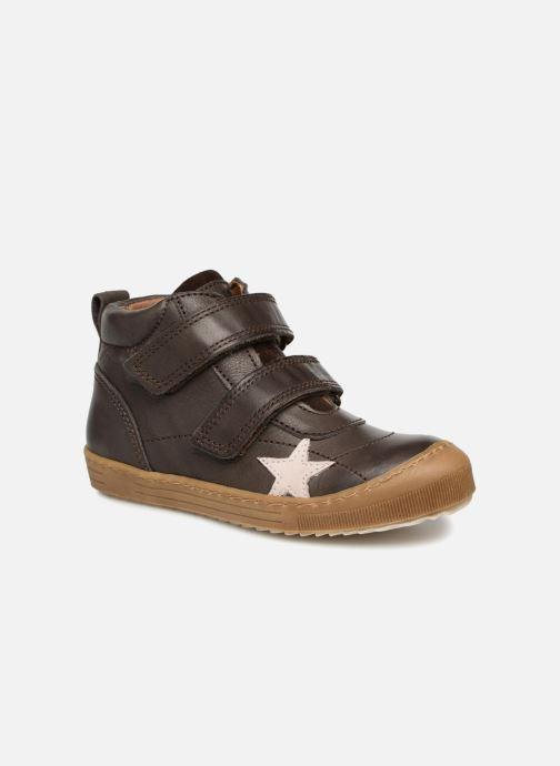 Sneakers Bisgaard Addy Bruin detail