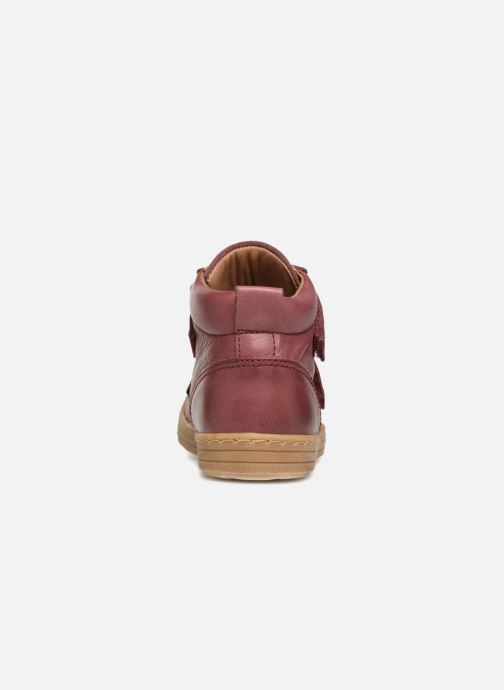 Trainers Bisgaard Addy Burgundy view from the right