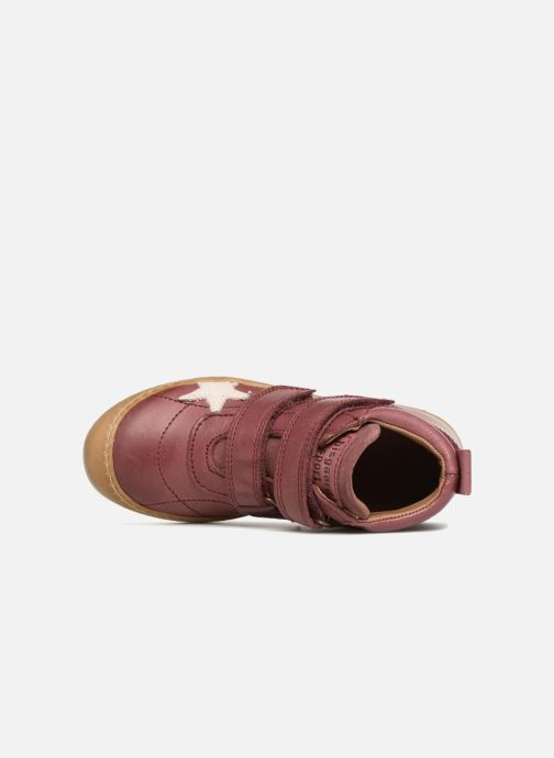 Trainers Bisgaard Addy Burgundy view from the left