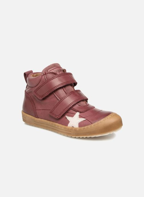 Trainers Bisgaard Addy Burgundy detailed view/ Pair view