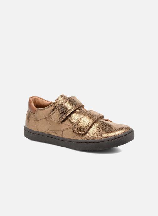 9dc7568afaea Sneakers Bisgaard Christen Guld og bronze detaljeret billede af skoene