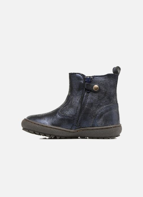 Ankle boots Bisgaard Ebba-Tex Blue front view