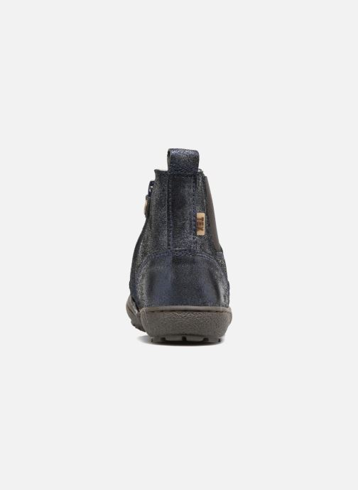 Ankle boots Bisgaard Ebba-Tex Blue view from the right