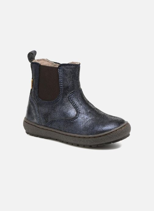 Ankle boots Bisgaard Ebba-Tex Blue detailed view/ Pair view