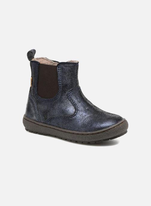 Ankelstøvler Bisgaard Ebba-Tex Blå detaljeret billede af skoene