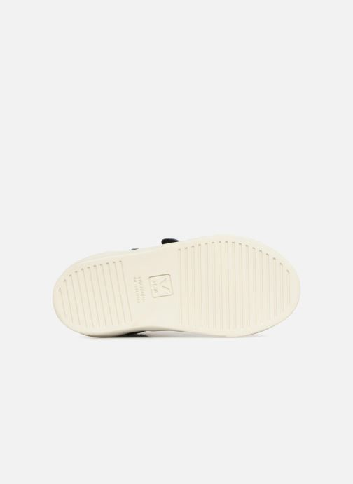 Trainers Veja Esplar Mid Small Velcro Fured Blue view from above