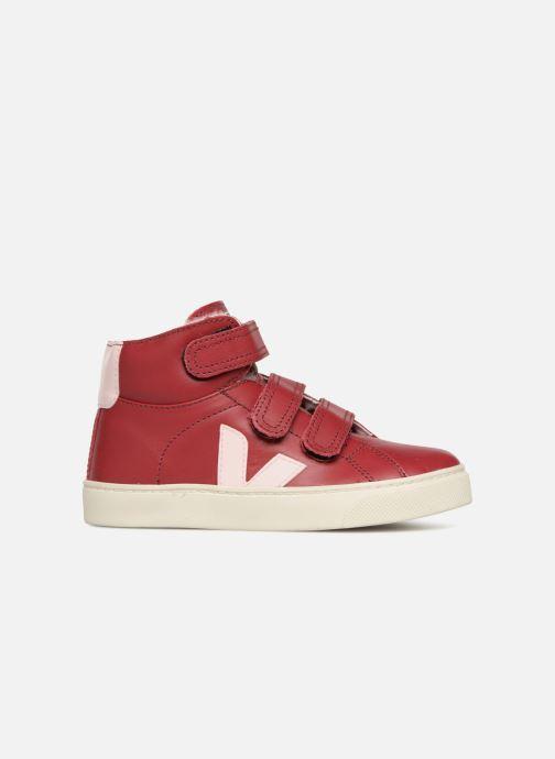 Sneaker Veja Esplar Mid Small Velcro Fured rot ansicht von hinten