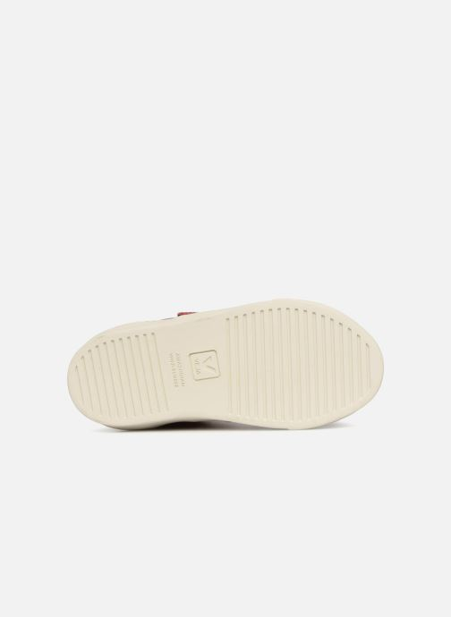 Trainers Veja Esplar Mid Small Velcro Fured Red view from above