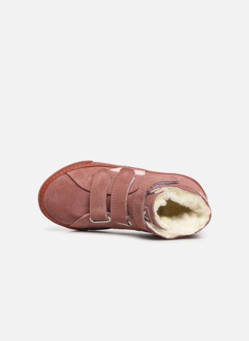 Baskets Veja Esplar Mid Small Velcro Fured Violet vue gauche