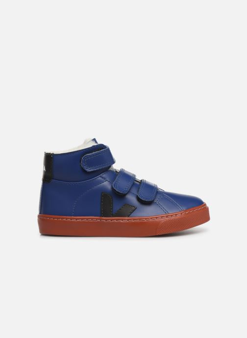 Sneakers Veja Esplar Mid Small Velcro Fured Blå se bagfra