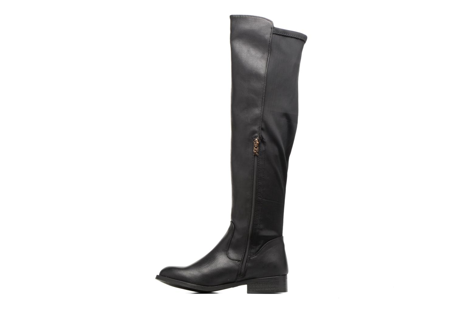 Boots & wellies Xti Dayal Black front view