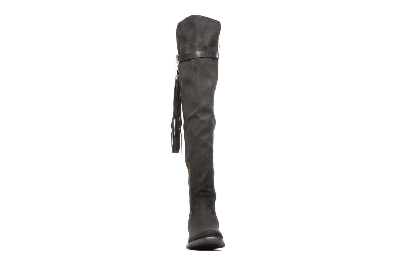 Bottes Xti Camina Noir vue portées chaussures