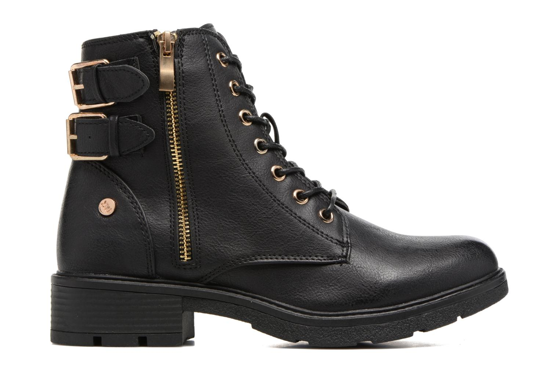Boots en enkellaarsjes Xti Woha Zwart achterkant