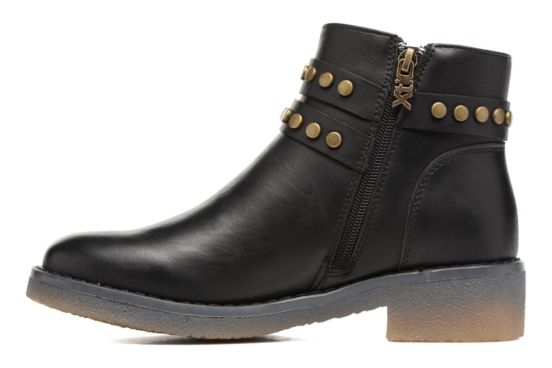 Boots en enkellaarsjes Xti Teki Zwart voorkant